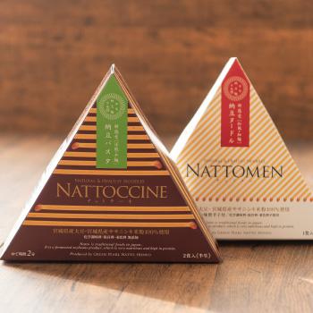 GREEN PEARL納豆「NATTOCHINE/NATTOMEN」